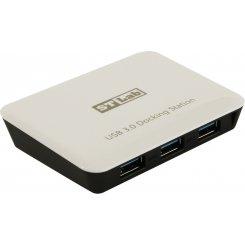 Фото USB-хаб STLab USB 3.0 3-ports+LAN с БП (U-810) White