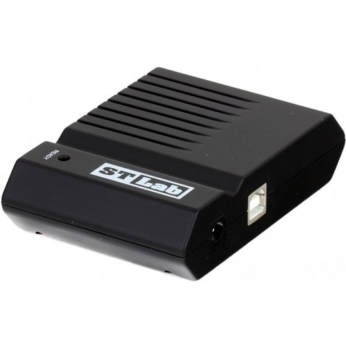 Фото USB-хаб STLab USB 2.0 4-ports с БП (U-181) Black
