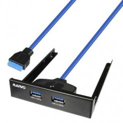 Фото USB-хаб Maiwo USB 3.0 2-ports 3.5