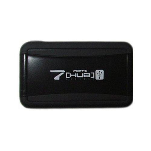 Фото USB-хаб Lapara USB 2.0 7-ports с БП (LA-UH7315) Black