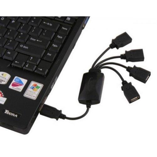 Фото USB-хаб Lapara USB 2.0 4-ports (LA-UH803-A) Black