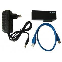 Фото Адаптер Maiwo USB 3.0 to SATA (K106) Black