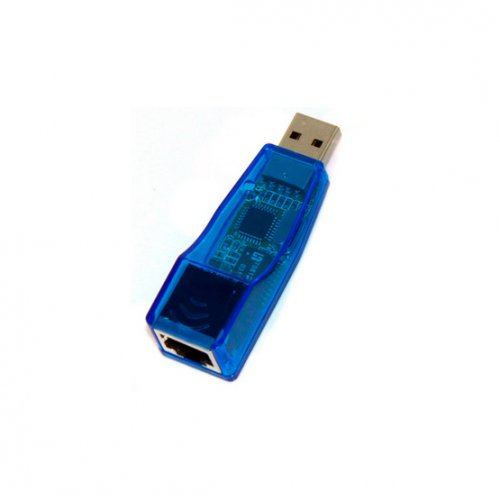 Фото Кабель Dynamode USB to LAN 100Mb/s (USB-NIC-1427-100) Blue