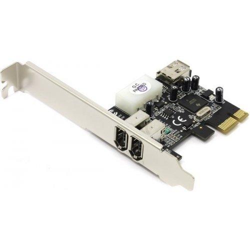 Фото Контроллер STlab PCI-E to IEEE 1394 3 ports (F-261)