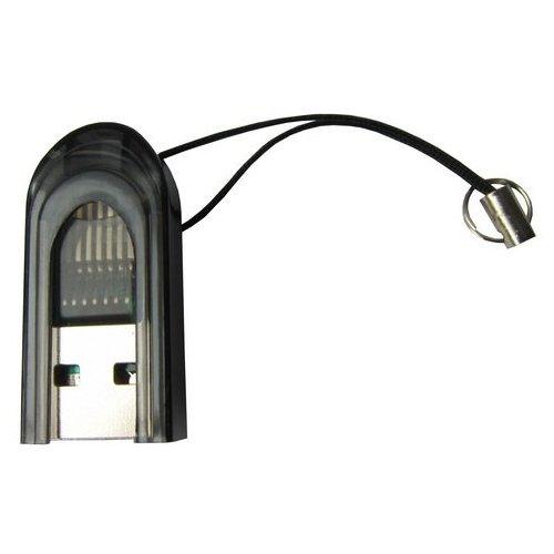 Фото Кардридер STLab USB 2.0 microSD/TF (U-373) Black