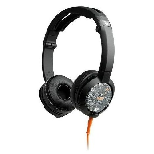 Фото Ігрові навушники SteelSeries FLUX Headset Luxury (61283) Black