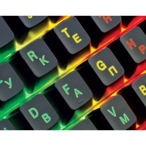 Фото Клавиатура REAL-EL 8700 Gaming Backlit Black
