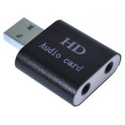 Фото Звуковая карта Dynamode SOUND USB 8 Black