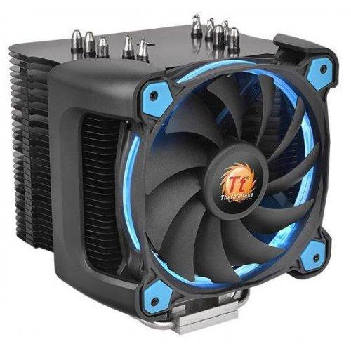 Фото Система охлаждения Thermaltake Riing Silent 12 Pro (CL-P021-CA12BU-A) Blue