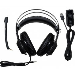 Фото Наушники Kingston HyperX Cloud Revolver S Gaming Dolby Surround 7.1 (HX-HSCRS-GM/EE) Black