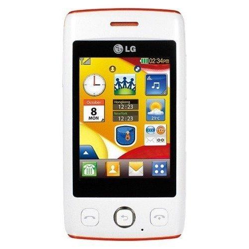 Фото Мобильный телефон LG T300 Cookie Lite White Orange
