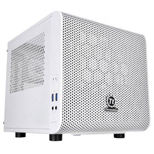 Фото Корпус Thermaltake Core V1 Snow Edition без БП (CA-1B8-00S6WN-01) White