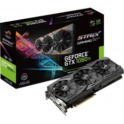 Фото Видеокарта Asus ROG GeForce GTX 1080 TI STRIX 11264MB (ROG-STRIX-GTX1080TI-11G-GAMING)