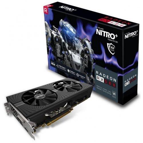 Фото Видеокарта Sapphire Radeon RX 580 NITRO+ 8192MB (11265-01-20G)