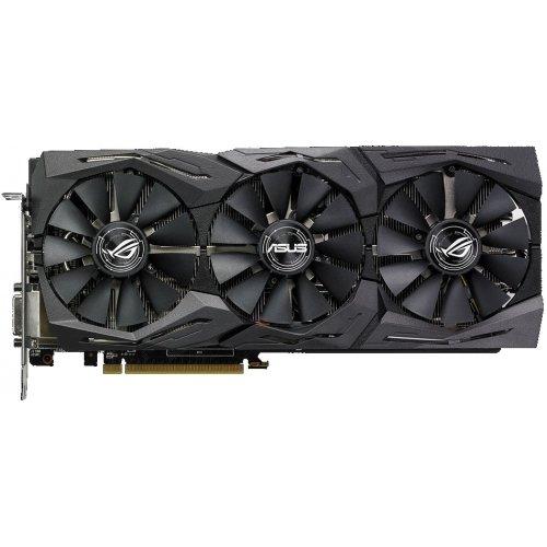Фото Видеокарта Asus ROG Radeon RX 580 STRIX OC 8192MB (ROG-STRIX-RX580-O8G-GAMING)