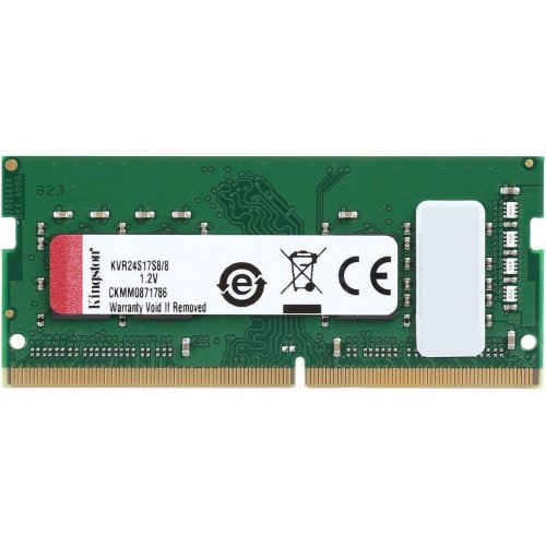 Фото ОЗУ Kingston SODIMM DDR4 8GB 2400Mhz (KVR24S17S8/8)