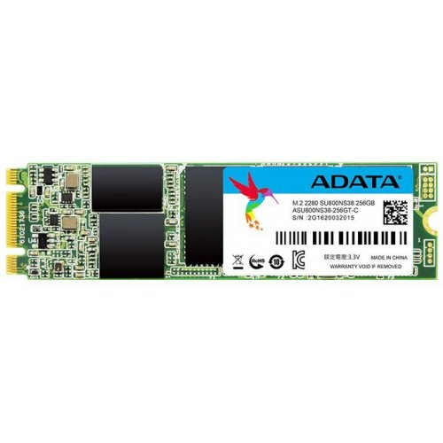 Фото SSD-диск ADATA Ultimate SU800 TLC 256GB M.2 (2280 SATA) (ASU800NS38-256GT-C)