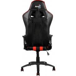 Фото Кресло Aerocool C120 Gaming Chair (AC120B) Black/Red