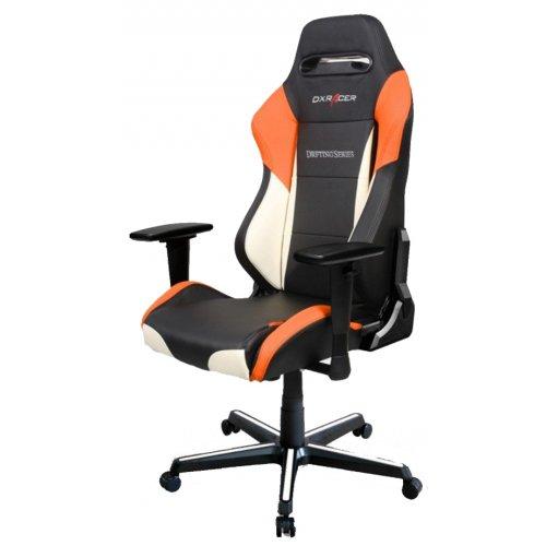 Фото Игровое кресло DXRacer Drifting (OH/DM61/N) Black/White/Orange