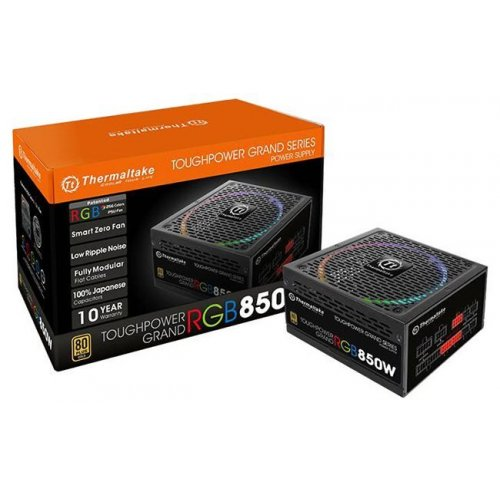 Фото Блок питания Thermaltake Toughpower Grand RGB 850W (PS-TPG-0850FPCGEU-R)