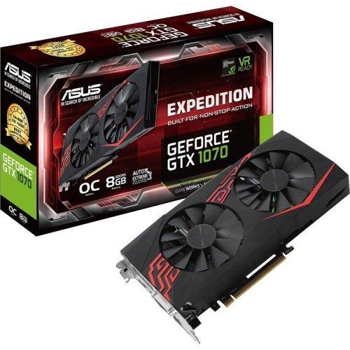 Фото Видеокарта Asus GeForce GTX 1070 Expedition OC 8192MB (EX-GTX1070-O8G)