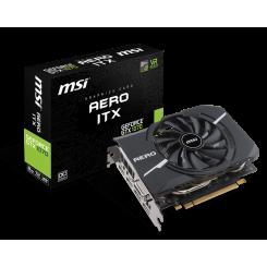 Фото Видеокарта MSI Geforce GTX 1070 AERO ITX OC 8192MB (GTX 1070 AERO ITX 8G OC)