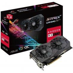Фото Видеокарта Asus ROG Radeon RX 570 STRIX 4096MB (ROG-STRIX-RX570-O4G-GAMING)