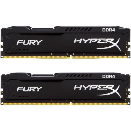 Фото ОЗУ Kingston DDR4 16GB (2x8GB) 2400Mhz HyperX FURY Black (HX424C15FB2K2/16)