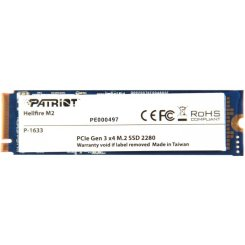 Фото SSD-диск Patriot Helifire MLC 240GB M.2 (2280 PCI-E) (PH240GPM280SSDR)