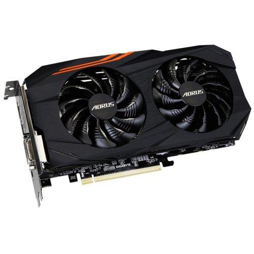 Фото Видеокарта Gigabyte Radeon RX 570 AORUS 4096MB (GV-RX570AORUS-4GD)