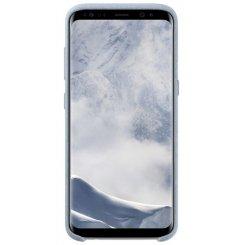Фото Чохол Samsung Alcantara Cover для Galaxy S8+ G955 (EF-XG955AMEGRU) Mint