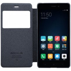 Фото Чехол Nillkin Sparkle Series для Xiaomi Redmi 4 Prime Black