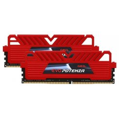 Фото ОЗУ Geil DDR4 32GB (2x16GB) 2400Mhz EVO POTENZA Red (GPR432GB2400C16DC)