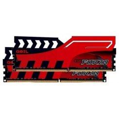 Фото ОЗУ Geil DDR4 8GB (2x4GB) 2400Mhz EVO FORZA Red (GFR48GB2400C16DC)