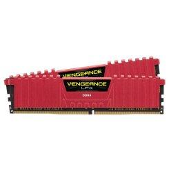 Фото ОЗУ Corsair DDR4 16GB (2x8GB) 2133Mhz Vengeance LPX Red (CMK16GX4M2A2133C13R)