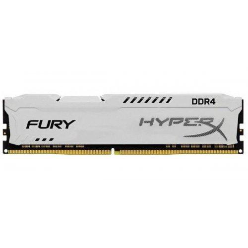Фото Kingston DDR4 8GB 2400Mhz HyperX Fury White (HX424C15FW2/8)