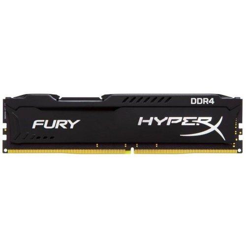 Фото Kingston DDR4 16GB (2x8GB) 2666Mhz HyperX FURY Black (HX426C16FB2K2/16)