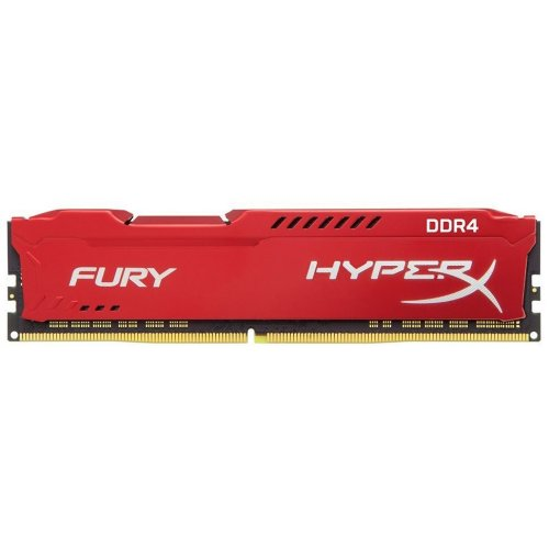 Фото ОЗУ Kingston DDR4 8GB 2133Mhz HyperX FURY Red (HX421C14FR2/8)