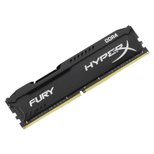 Фото Kingston DDR4 8GB 2666Mhz HyperX FURY Black (HX426C16FB2/8)