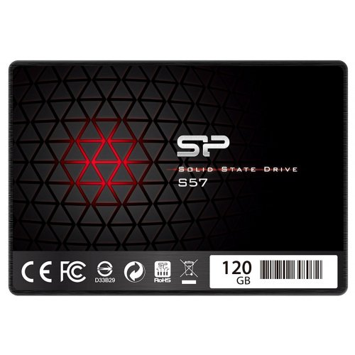 Фото SSD-диск Silicon Power S57 TLC 120GB 2.5'' SLC Cahe (SP120GBSS3S57A25)
