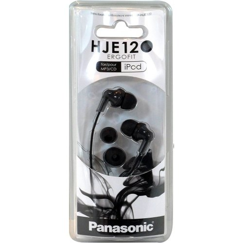 Фото Наушники Panasonic RP-HJE120EE-K Black