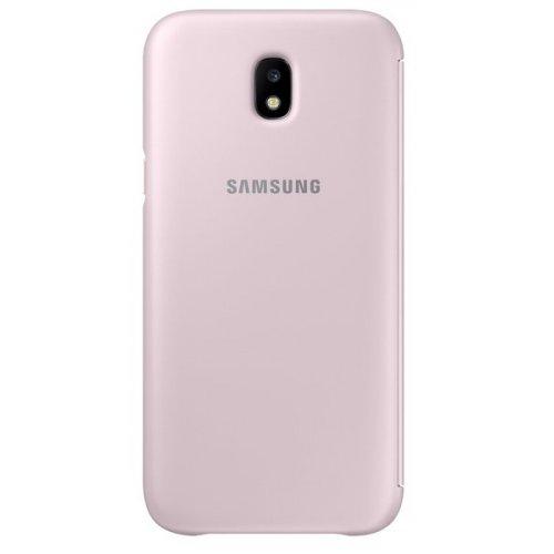 Фото Чехол Чехол Samsung Wallet Cover для Galaxy J5 2017 (EF-WJ530CPEGRU) Pink