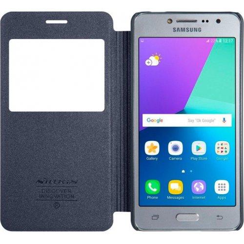Фото Чехол Nillkin Sparkle Series для Samsung Galaxy J2 Prime G532 Black