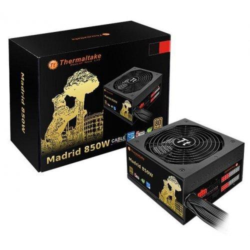 Фото Блок питания Thermaltake Madrid Gold 850W (W0495RE)