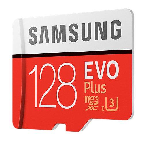 Фото Карта пам'яті Samsung microSDXC EVO Plus 128GB UHS-I U3 Class 10 (с адаптером) (MB-MC128GA/RU)