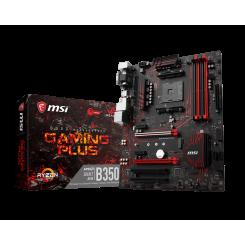 Фото Материнская плата MSI B350 GAMING PLUS (sAM4, AMD B350)