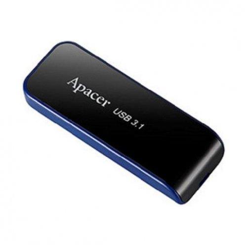 Фото Накопитель Apacer AH356 64GB USB 3.1 Black (AP64GAH356B-1)