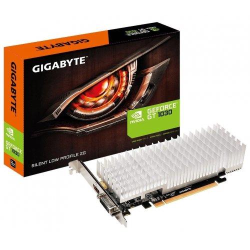 Фото Видеокарта Gigabyte GeForce GT 1030 Silent Low profile 2048MB (GV-N1030SL-2GL)