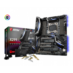 Фото Материнская плата MSI X299 GAMING PRO CARBON AC (s2066, Intel X299)