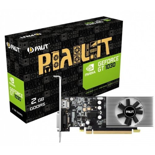 Фото Видеокарта Palit GeForce GT 1030 2048MB (NE5103000646-1080F)